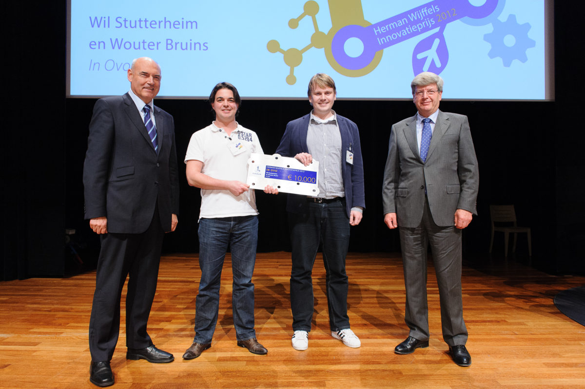 In Ovo wins the young talent award of Herman Wijffels Innovation Prize 2012 - Photo: Hans Lebbe